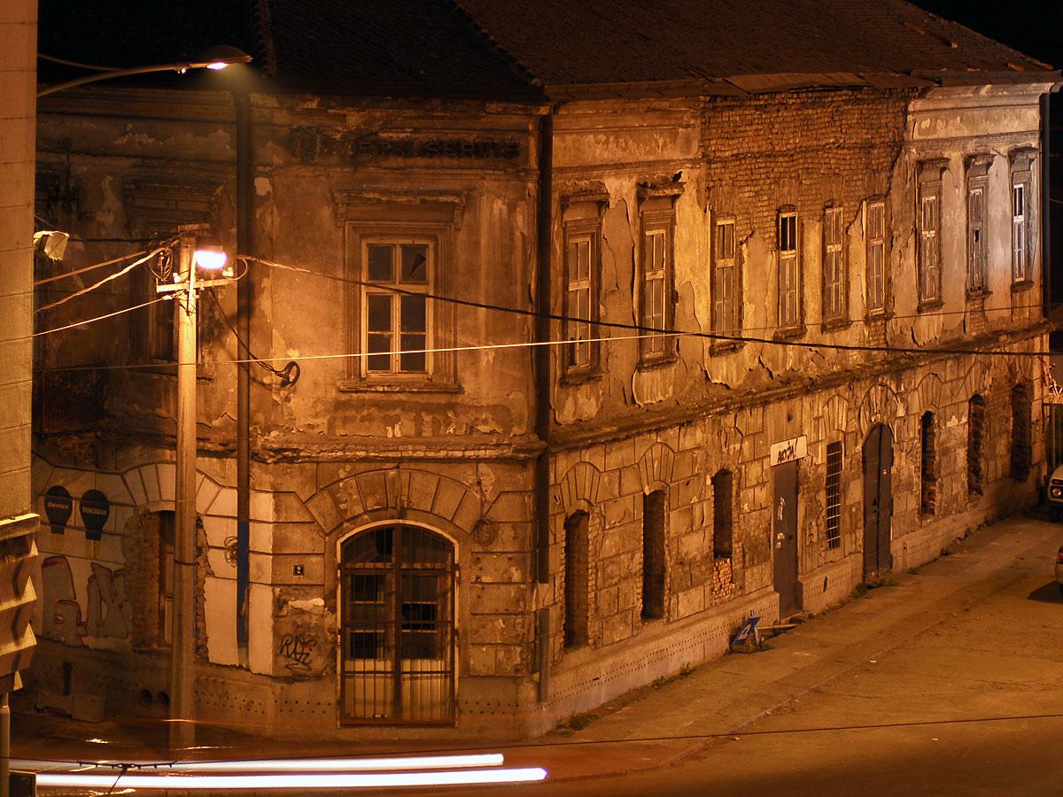 Stara arhitektura Beograda, početak Savamale