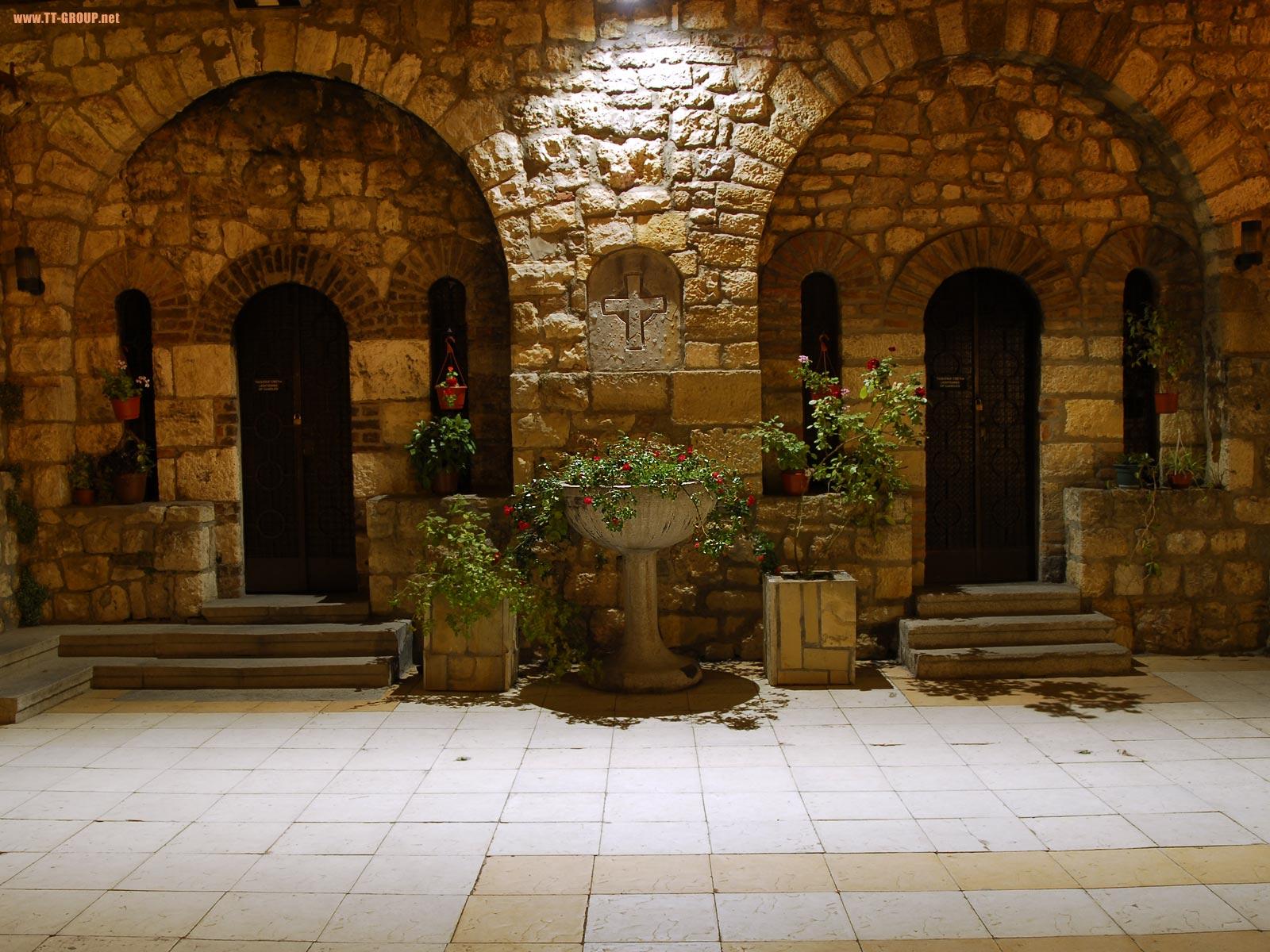 Crkva Ružica noću, Kalemegdan