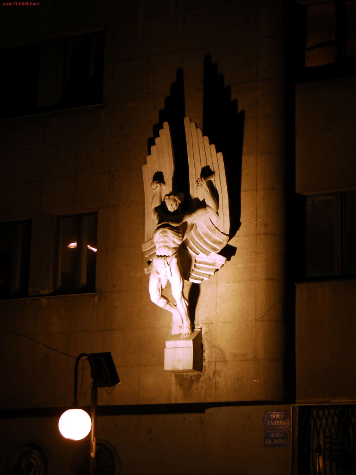 Trg avijatičara, ulica Glavna, Zemun