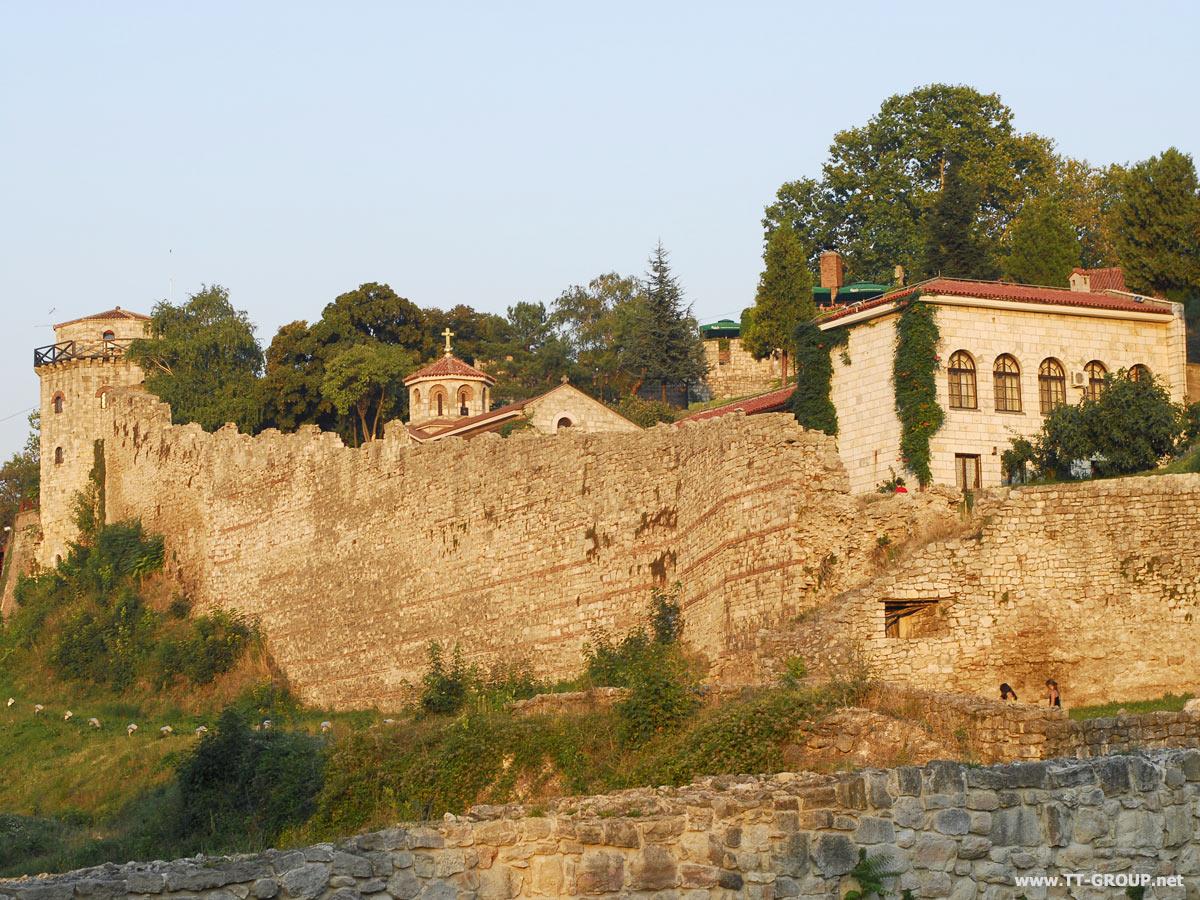 Kalmegdan, panorama tvrđave
