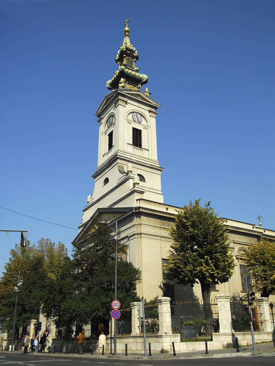 Saborna crkva Beograd, slika po dnevnom svetlu
