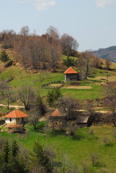 Kuće u selima planinskog tipa, Južna Srbija