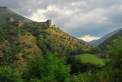 Pogled na zidine Magliča