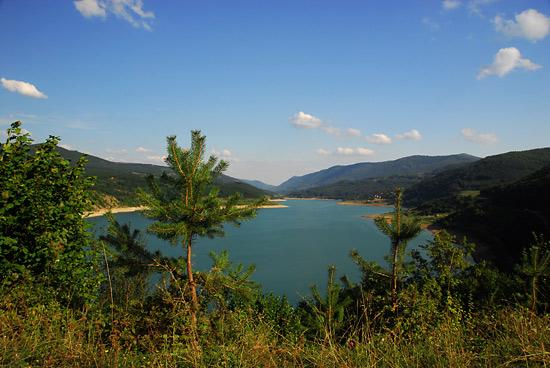 Panorama sa jezera
