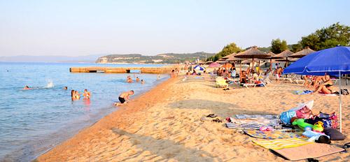Gradska plaža u Jerisosu