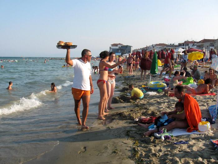 Hrana na plaži