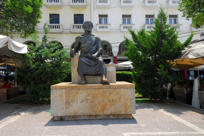 Spomenik Aristotelu, Solun