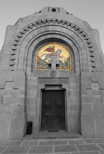 Zejtinlik - ulaz u mauzolej