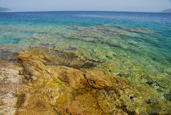 Tasos, divlja plaža