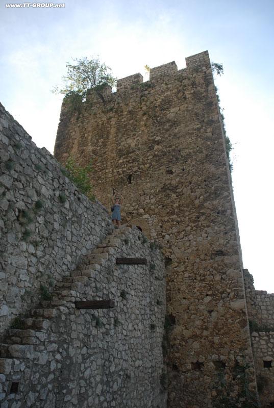 Tvrđave i utvrđeni gradovi Srbije Golubac-tower