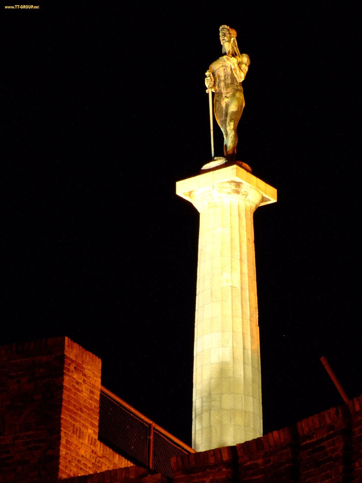 Simbol Beograda na Kalemegdanu