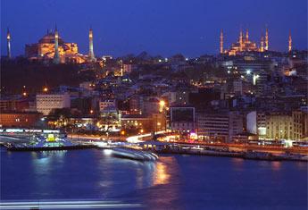 Panorama Istanbula sa kula Galate