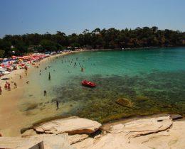 Alikes plaža na Tasosu