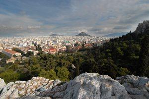 Atina, prepoznatljiva panorama