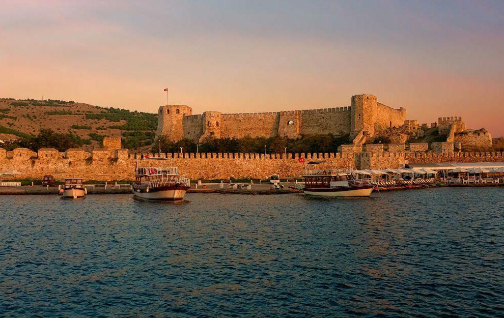 Tvrđava na egejskom ostrvu Bozdžada