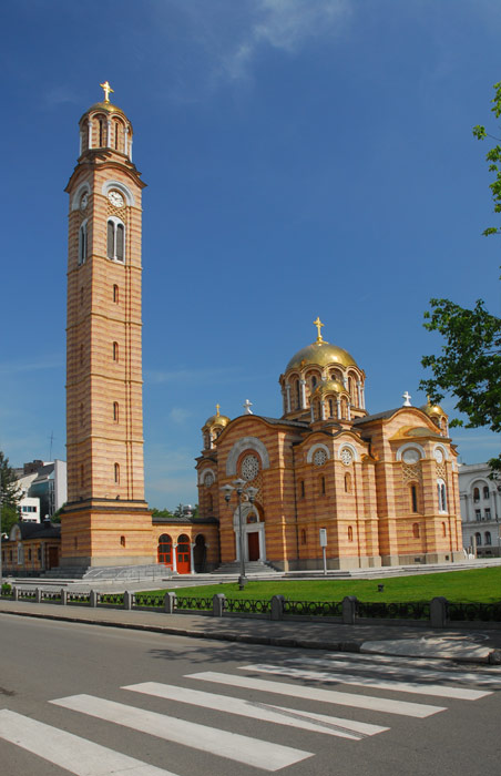 Zvonik pored Hrama