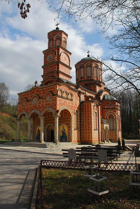 Prelepa arhitektura manastira