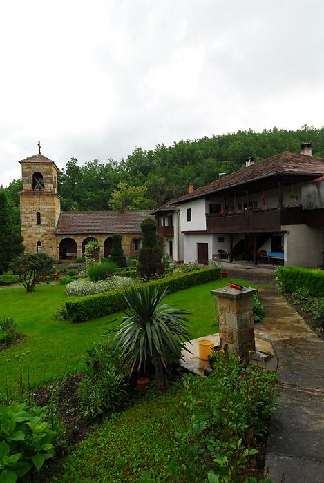 Vegetacija manastirskog vrta