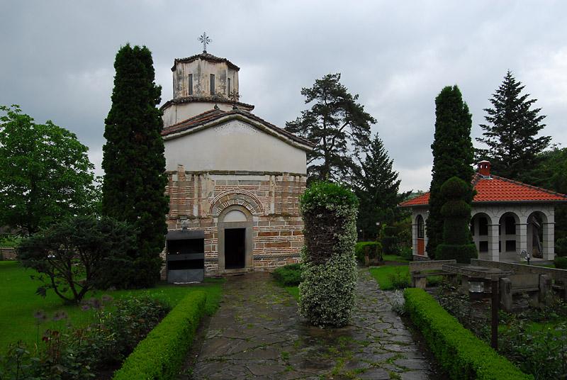 Kišni dan u manastiru