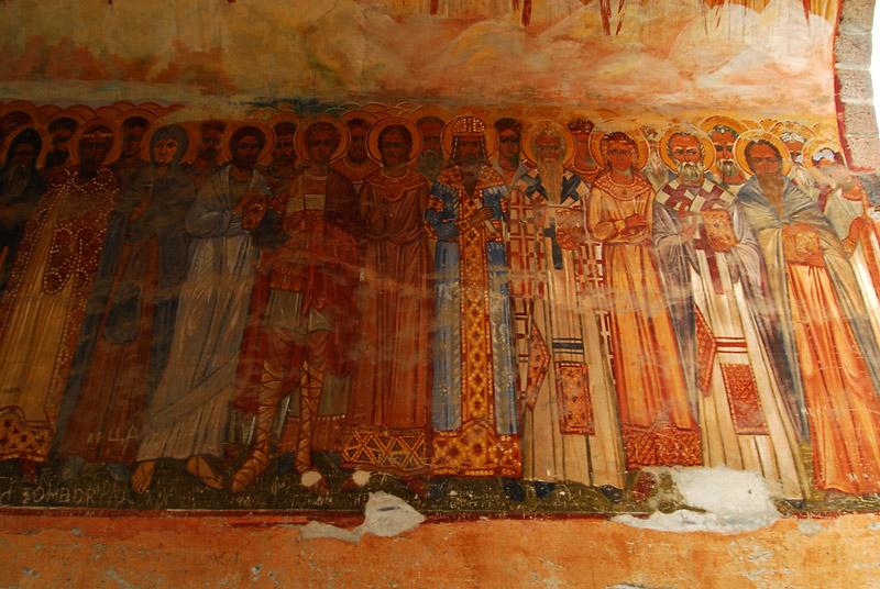 Freske na porti