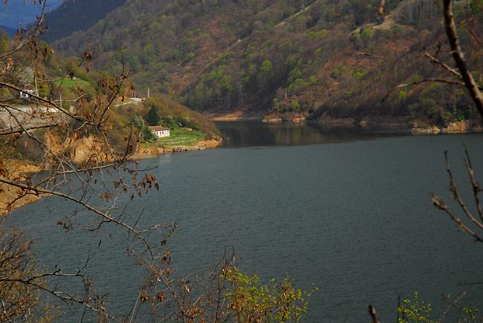 Panorama jezera Prvonek