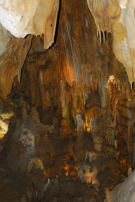 Underground Resava cave