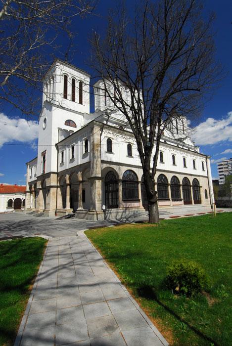 Ulaz u sabornu crkvu Niša