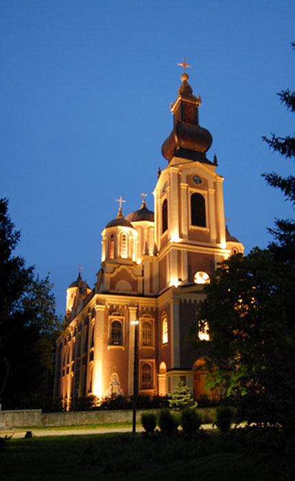 Sarajevska crkva u suton