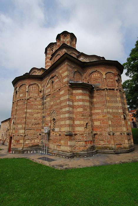 Crkva vaznesenja Gospodnjeg, apsida