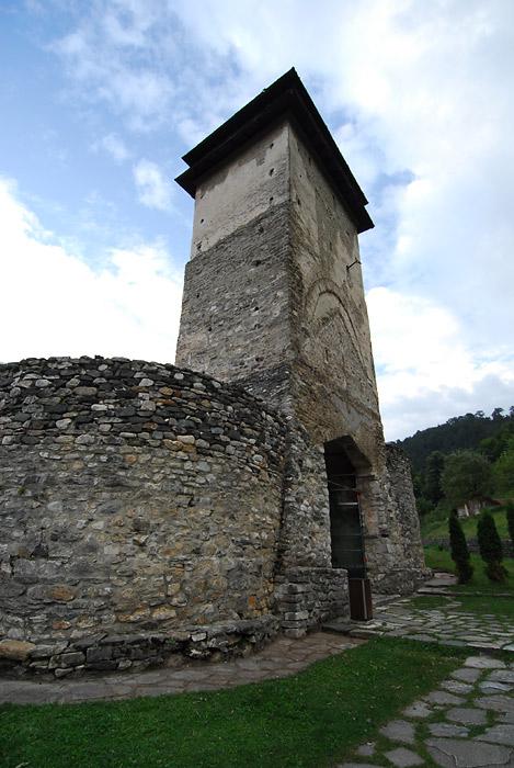 Kula na ulazu u Studenicu