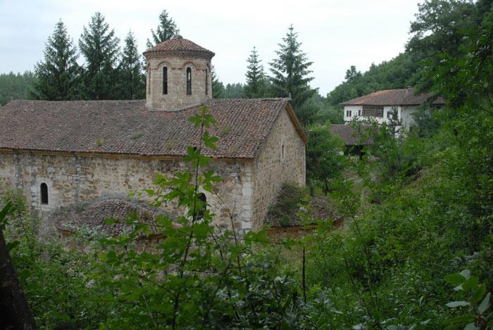 Vegetacija u manastiru