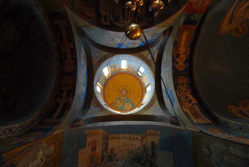 Unutrašnjost, kupola
