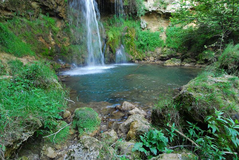 Vodopad Veliki Buk, Lisinie