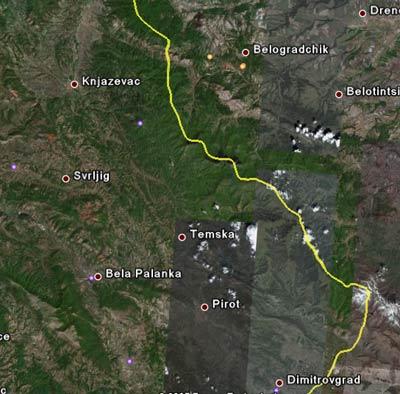 Satelit Mapa Srbija Superjoden