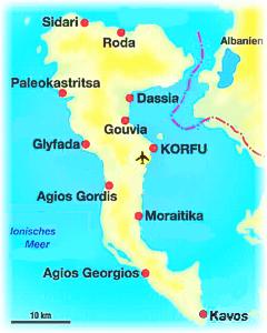 mapa grcke krf Grad Krf (Corfu)   foto turistički vodič | TT Group mapa grcke krf
