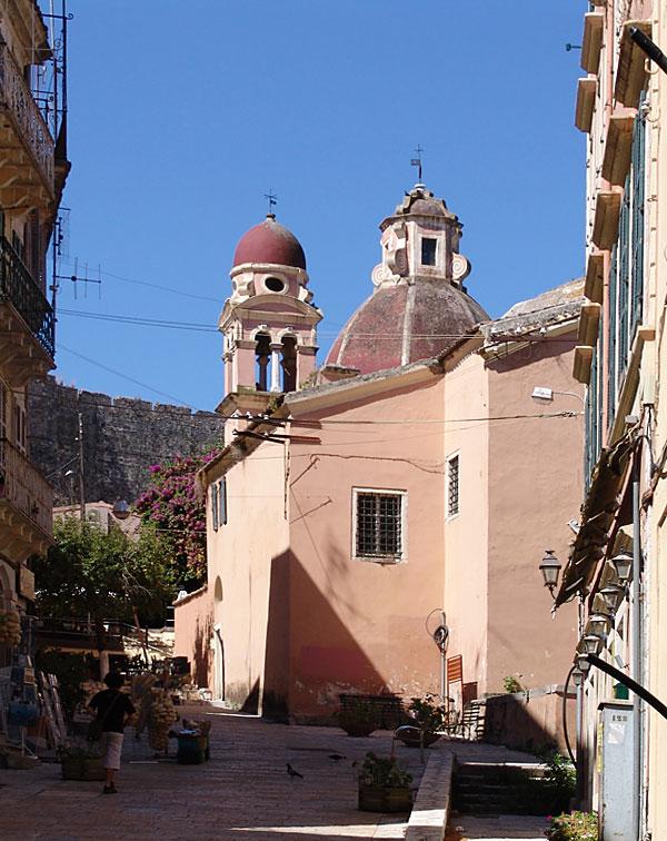 Sveti Spiridon, crkva u gradu Krf