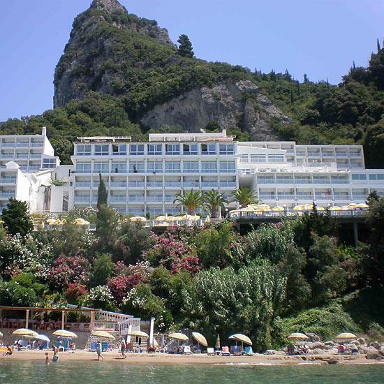 Krf, Hotel Gordios