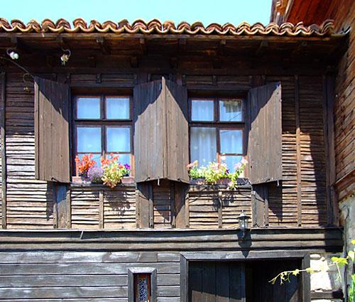 Romantični detalj sa balkona