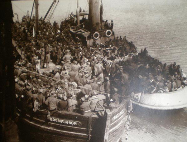 Francuske lađe u I svetskom ratu
