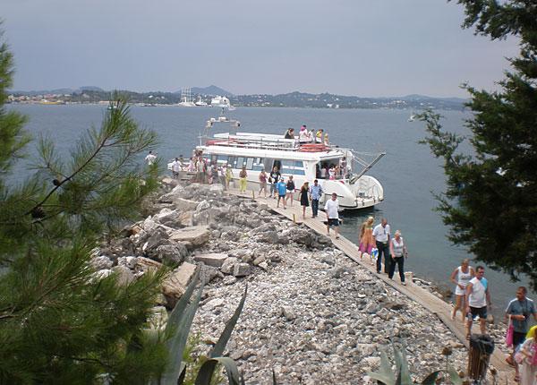 Ostrvo Vido u Grckoj - iskrcavanje