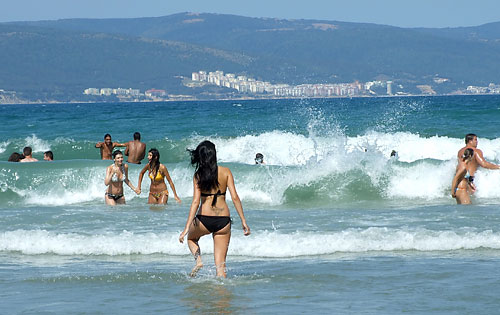 Plaža na Nesebarskom moru