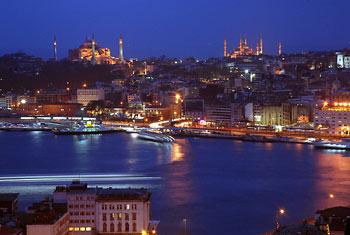 Panorama Istanbula sa Kule Galate
