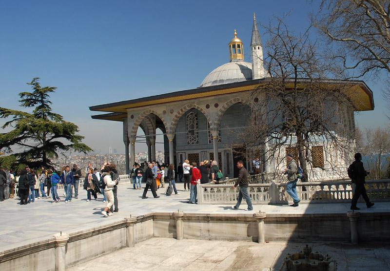 Atmosfera unutar Topkapi palate