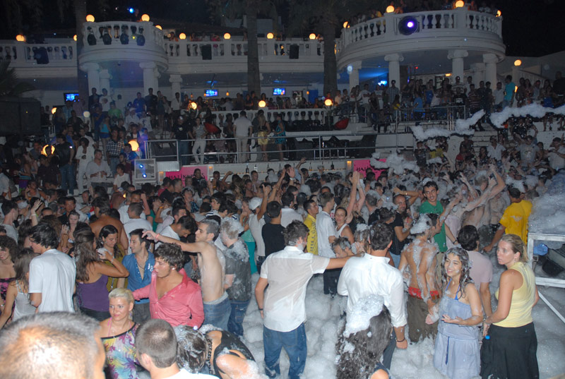 Foam parties Bodrum