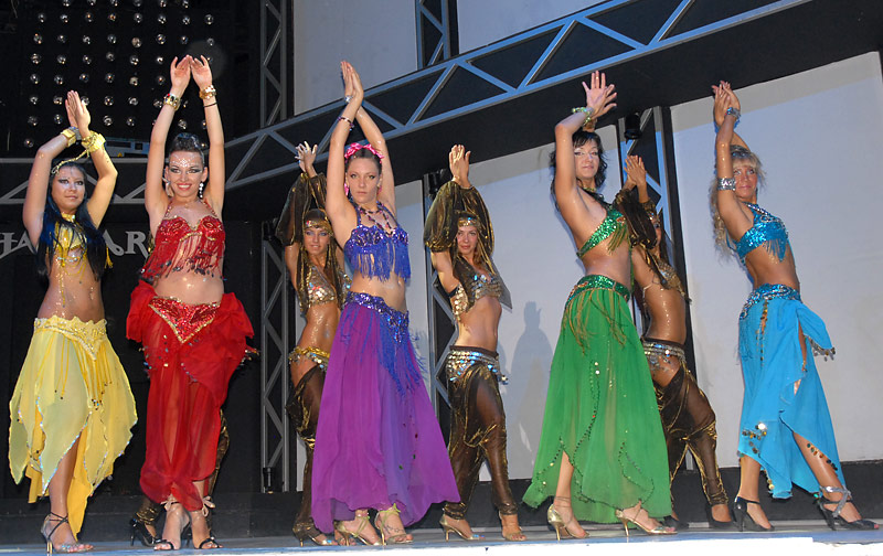 Turkish dance in Bodrum night