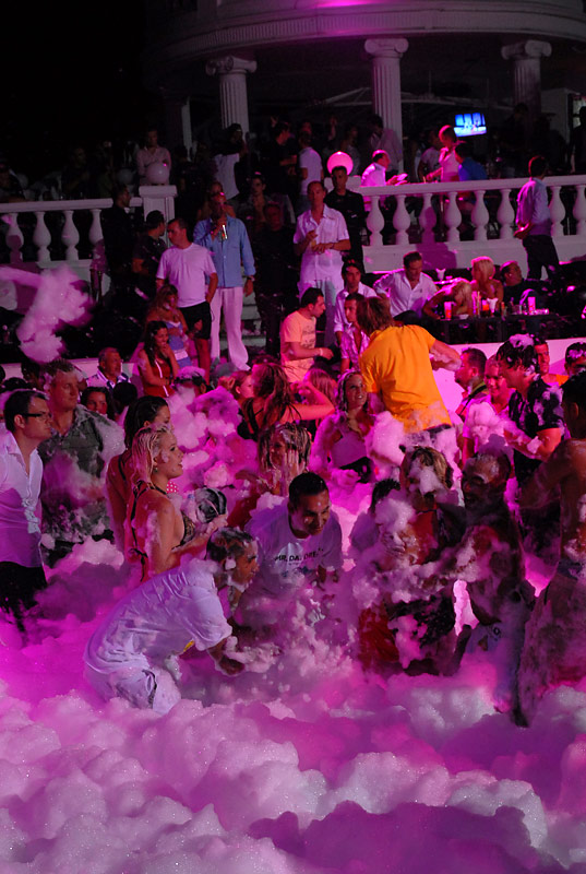 Foam party in Halikarnas